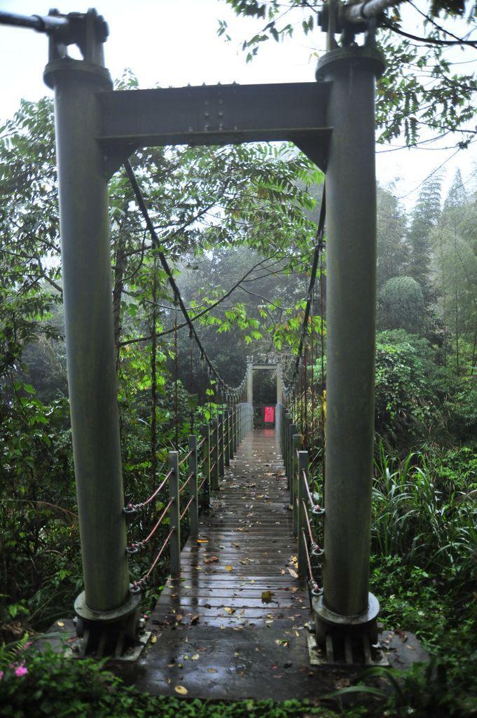 蓮心池吊橋(石壁仙谷中)主照片