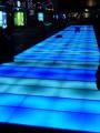 城市光廊-七彩的階梯是夜晚城市光廊的特色照片