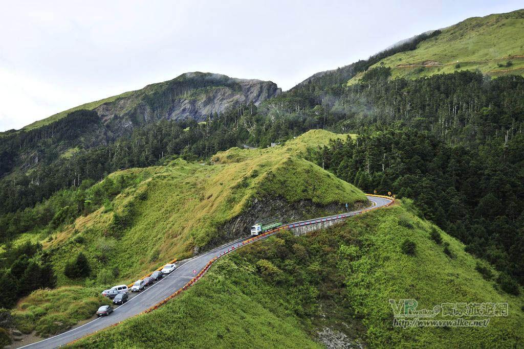 合歡山北峰(西峰)步道登山口主照片