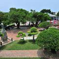 安平古堡-由古堡上俯瞰園區照片