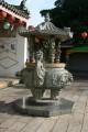 三山國王廟-石雕的天公爐照片