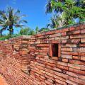 恆春古城-北門附近的城牆2照片