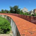 恆春古城-北門附近的城牆1照片