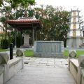 八掌溪義渡紀念碑照片