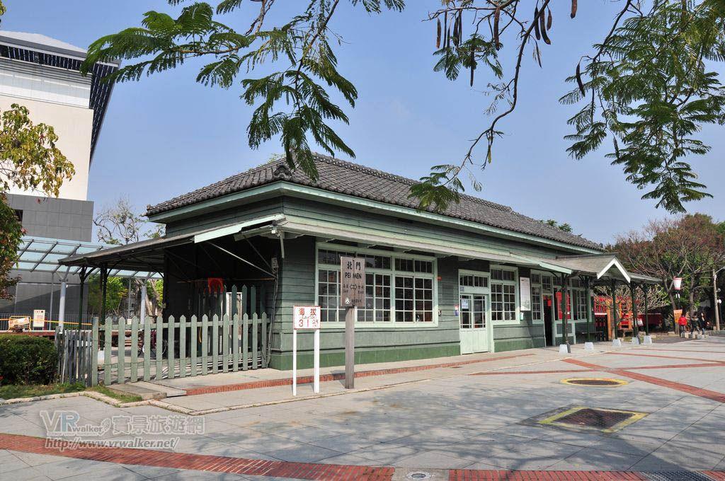 阿里山鐵路北門驛主照片