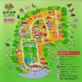 頑皮世界野生動物園-園區地圖照片