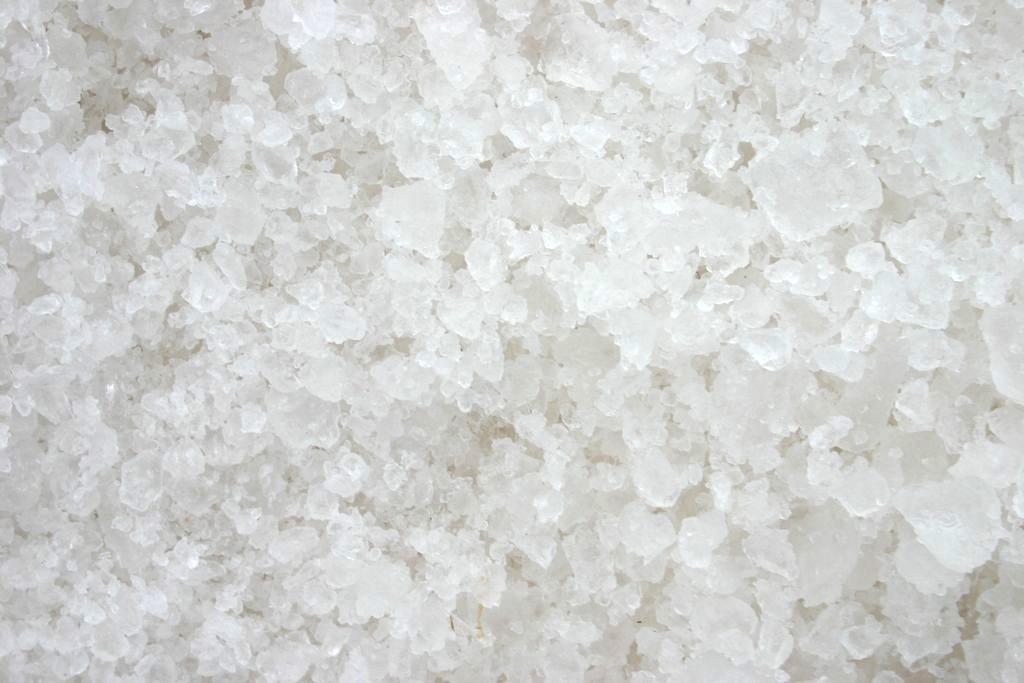 鹽結晶近照 鹽結晶近照  七股鹽山 景點