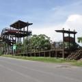 七股紅樹林保護區-觀景台全貌照片