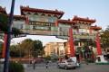 台南棒球場(臺南棒球場)-旁邊的牌樓照片