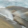 野柳地質公園-鯨魚噴水照片
