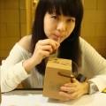 紙箱王創意園區-飲料盒也是紙唷!喝完可以當存錢桶照片