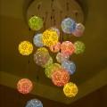 紙箱王創意園區-漂亮的燈飾照片