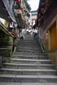 九份(九份老街)-漫步石階照片