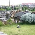 二崁古厝聚落(二崁傳統聚落)-民宅庭園照片