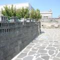 二崁古厝聚落(二崁傳統聚落)-空心磚裝飾的圍牆照片