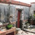 二崁古厝聚落(二崁傳統聚落)-庭園常見古老石擺飾照片