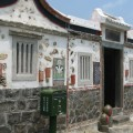 二崁古厝聚落(二崁傳統聚落)-趣味的裝置藝術照片