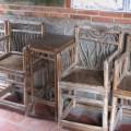二崁古厝聚落(二崁傳統聚落)-古老竹椅照片