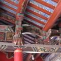 二崁古厝聚落(二崁傳統聚落)-屋頂房樑的裝飾照片