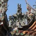 三峽祖師廟(三峽清水巖祖師廟)-屋簷上的雕飾照片