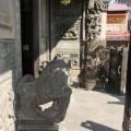 三峽祖師廟(三峽清水巖祖師廟)-門口石獅照片