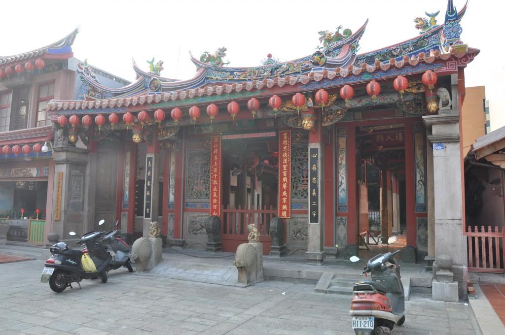 新竹關帝廟主照片