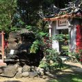 吳鳳廟 與 吳鳳成仁地-水光山色門一景照片