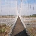 丹林吊橋-橋上照片