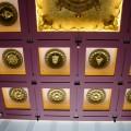 中台禪寺-中台禪寺-大殿屋頂鑲嵌有各種法器雕飾照片
