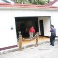 九份二山震災紀念園區-地震造成的傾斜屋4照片