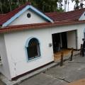 九份二山震災紀念園區-地震造成的傾斜屋3照片
