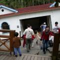 九份二山震災紀念園區-地震造成的傾斜屋2照片