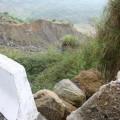 九份二山震災紀念園區-地滑處下方照片