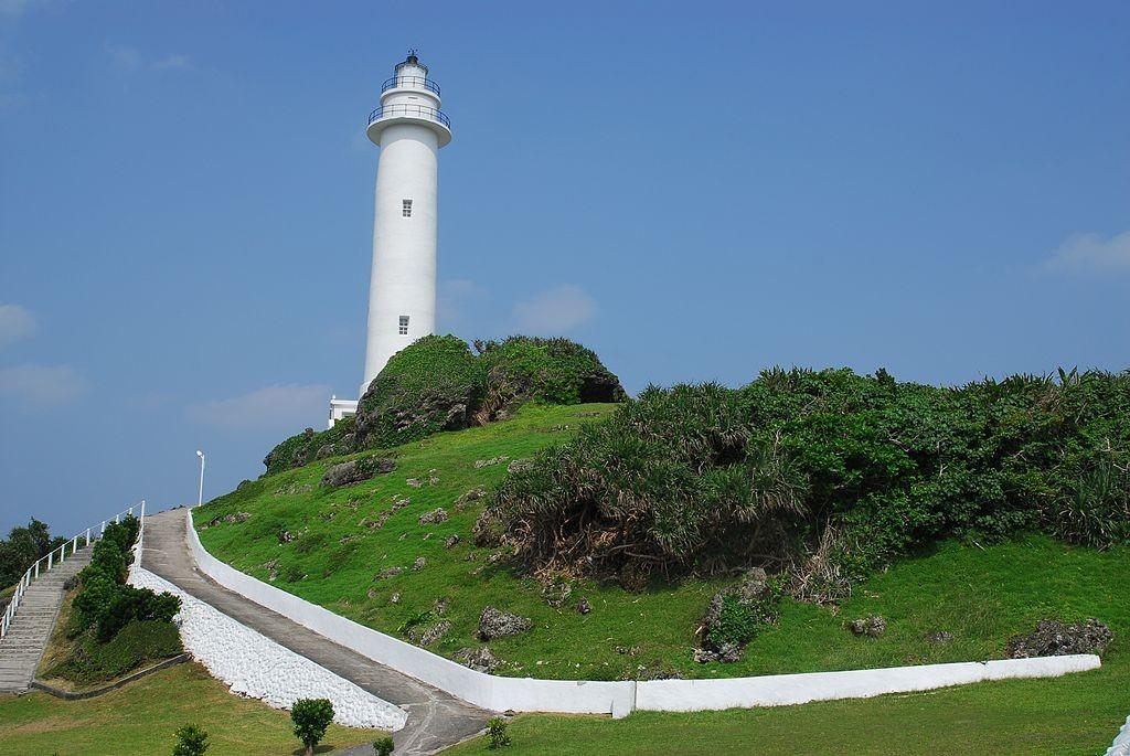 綠島燈塔主照片