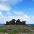 雙獅岩照片