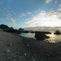 東清灣(蘭嶼第一大海灣)-東清灣寬景照照片