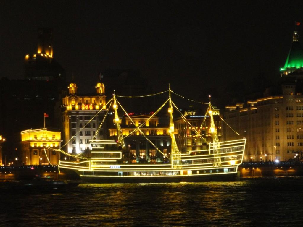 上海外灘夜景主照片