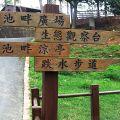 台南永康公園-指示牌照片