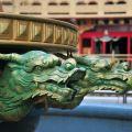 玉山寶光聖堂-龍形雕飾照片