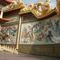 玉山寶光聖堂-龍華大會護墻右側照片