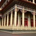 玉山寶光聖堂-金碧輝煌的後殿照片