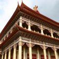 玉山寶光聖堂-後殿高達12層樓照片