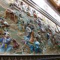 玉山寶光聖堂-高23公尺壯觀的龍華大會護墻照片