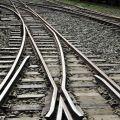 奮起湖火車站-彎彎曲曲的鐵軌照片