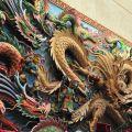 新塭嘉應廟-浮雕照片