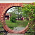 吳鳳紀念公園-圓形門洞照片