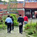 吳鳳紀念公園-遊客如織照片
