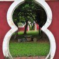 吳鳳紀念公園-葫蘆形門洞照片