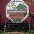 吳鳳紀念公園-八角形門洞照片