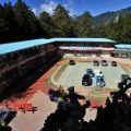 受鎮宮-受鎮宮隔壁香林國中籃球場照片